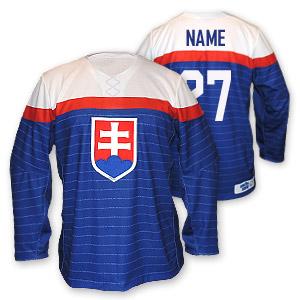 18c8caca591fe Slovakia semi authentic hokejový dres modrý