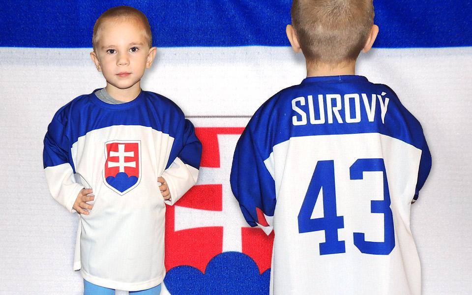 1d80fa2f45f56 Slovakia biely hokejový dres junior s hymnou. Slovakia biely hokejový dres  ...
